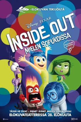 Inside Out - mielen sopukoissa | Suojan Elokuvat