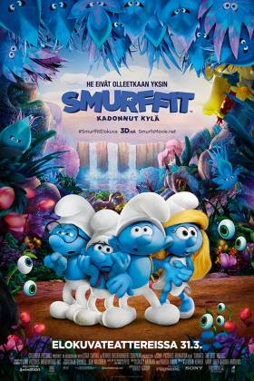Smurffit: Kadonnut kylä | Suojan Elokuvat